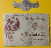 15154 - Richebourg  1942  Bichot - Bourgogne