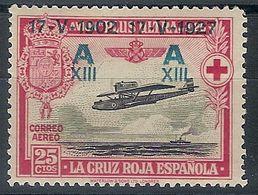 España 0367 * Jura Constitucion Alfonso XIII. 1927. Charnela - Ungebraucht