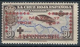 España 0368 * Jura Constitucion Alfonso XIII. 1927. Charnela - Ungebraucht