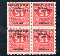 ROYAUME DES SERBES,CROATES ET SLOVENES 1919 * SURCH. RENVERSEE - 1919-1929 Königreich Der Serben, Kroaten & Slowenen