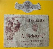 15156 - Monthelie 1949  Bichot - Bourgogne