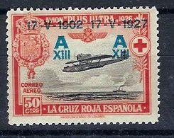 España 0370 * Jura Constitucion Alfonso XIII. 1927. Charnela - Ungebraucht