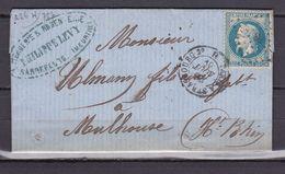 D170/ NAPOLEON N° 29  OBL SUR LETTRE - 1863-1870 Napoleon III With Laurels