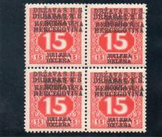 ROYAUME DES SERBES,CROATES ET SLOVENES 1919 * SURCH. DOUBLE - 1919-1929 Königreich Der Serben, Kroaten & Slowenen