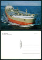 BARCOS SHIP BATEAU PAQUEBOT STEAMER [BARCOS # 03260 ] - TT SEA SERPENT SALENREDERIERNA SWEDEN - Pétroliers