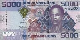 SIERRA LEONE 5000 LEONES 2013 UNC P 32 B - Sierra Leone