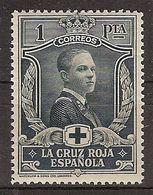 España 0335 * Cruz Roja. 1926. Charnela - Neufs