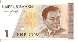 KIRGHIZISTAN 1 SOM ND1994 UNC P 7 - Kirghizistan