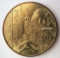 Monnaie De Paris. Espagne Barcelone -  Casa Batllo 2015 - Monnaie De Paris