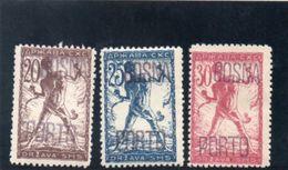 ROYAUME DES SERBES,CROATES ET SLOVENES 1919 * - 1919-1929 Königreich Der Serben, Kroaten & Slowenen