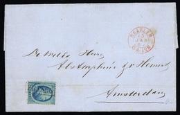 1867, Niederlande, 4, Brief - Non Classificati
