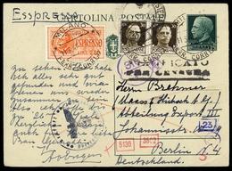 1942, Italien, P 84 U.a., Brief - Italia