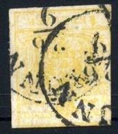 1850, Österreich, 1, Gest. - Machine Postmarks