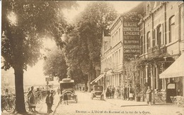 Esneux  L'hôtel Du Kursaal Et L'avenue De La Gare - Esneux