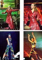 Fan Club De LORIE Chanteuse, Panini, Sur Scène, N° 49, 52, 53 Et 47, Album, Lot De 4 Photos - Fotos