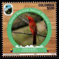 """A229I - KOLUMBIEN - 2020- MNH- BIRD - """" MACUIRA """"  NATURAL PARK- BEAR - Colombia"""