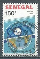 Sénégal YT N°709 Intelsat Oblitéré ° - Senegal (1960-...)