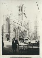 Gand  Eglise Saint-Nicolas  Et Tram 1928  PHOTO  9/12 Cm - Gent