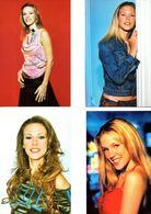 Fan Club De LORIE Chanteuse, Panini, Visage,  N° 10, 2, 27 Et 20, Album, Lot De 4 Photos - Fotos