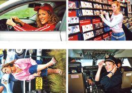 Fan Club De LORIE Chanteuse, Panini, Dans La Vie,  N° 69, 55, 60 Et 57, Album, Lot De 4 Photos - Foto's