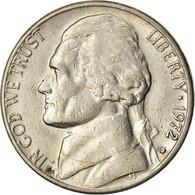 Monnaie, États-Unis, Jefferson Nickel, 5 Cents, 1972, U.S. Mint, Denver, TB+ - Federal Issues