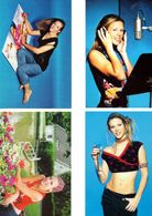 Fan Club De LORIE Chanteuse, Panini, Dans La Vie,  N° 33, 6,19 Et 3, Album, Lot De 4 Photos - Fotos