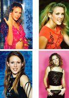 Fan Club De LORIE Chanteuse, Panini, Mannequin,  N° 54, 25,14 Et 31, Album, Lot De 4 Photos - Fotos