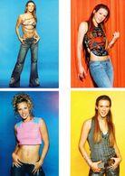Fan Club De LORIE Chanteuse, Panini, Mannequin,  N° 24, 18,23 Et 32, Album, Lot De 4 Photos - Fotos