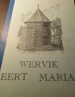 Wervik Eert Maria  -   1998  -  Mariakapelletjes  Kapelletjs Mariadevotie OLV - Wervik