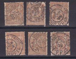 D172/ LOT SAGE N° 80 CACHET PP - 1876-1898 Sage (Type II)