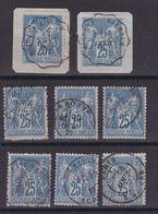 D172/ LOT SAGE N° 79 OBL - 1876-1898 Sage (Type II)