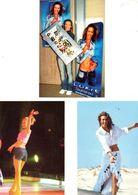 Fan Club De LORIE Chanteuse, Panini, Mannequin,  N° 62, 70, 45, Album, Lot De 3 Photos - Foto's