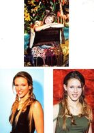 Fan Club De LORIE Chanteuse, Panini, ,  N° 13, 4, 26, Album, Lot De 3 Photos - Foto's