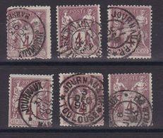 D173/ LOT SAGE N° 88 CACHET JOURNAUX - 1876-1898 Sage (Type II)