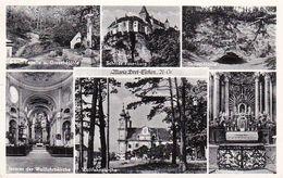 AK Maria Dreieichen - Niederösterreich - Mehrbildkarte Grasel-Höhle Wallfahrtskirche - 1958 (50928) - Rosenburg