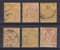 D173/ LOT SAGE N° 92 OBL - 1876-1898 Sage (Type II)