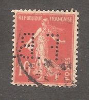Perforé/perfin/lochung France No 138 F.B. (23) - France