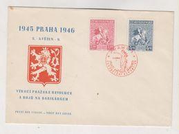 CZECHOSLOVAKIA PRAHA 1946 Nice  Cover - Storia Postale