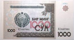 Ouzbekistan - 1000 Som - 2001 - PICK 82a - NEUF - Usbekistan