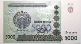 Ouzbekistan - 5000 Som - 2013 - PICK 83 - NEUF - Usbekistan