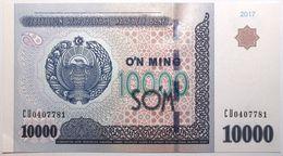 Ouzbekistan - 10000 Som - 2017 - PICK 84a - NEUF - Usbekistan