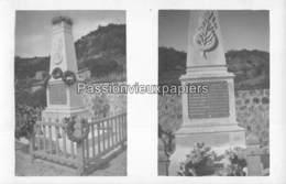 CARTE PHOTO SAINT JEANNET MONUMENT Aux MORTS 1914/1918 - France