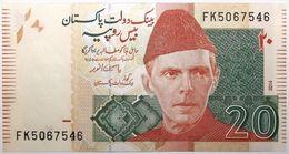 Pakistan - 20 Roupies - 2014 - PICK 55h.1 - NEUF - Pakistan
