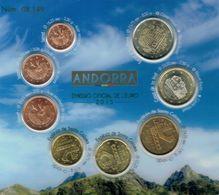 EUROS ANDORRA SET 8V NEUVES - Andorra
