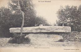 LIVERNON (Lot): Dolmen De Livernon - Livernon