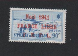 Faux Saint-Pierre Et Miquelon N° 220 (A) 90 C Gomme Charnière - Ungebraucht