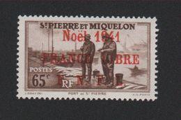 Faux Saint-Pierre Et Miquelon N° 217 (A) 65 C Gomme Sans Charnière - St.Pierre Et Miquelon