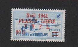 Faux Saint-Pierre Et Miquelon N° 231 (A) 20 F Sur 90 C Gomme Charnière - Ungebraucht