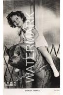 SHIRLEY TEMPLE OLD R/P POSTCARD CINEMA FILM STAR - Acteurs