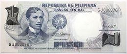 Philippines - 1 Piso - 1969 - PICK 142b - NEUF - Philippines